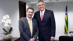 Senador Vanderlan (PSD) declara apoio a reeleição de Caiado (DEM) ao governo de Goiás.