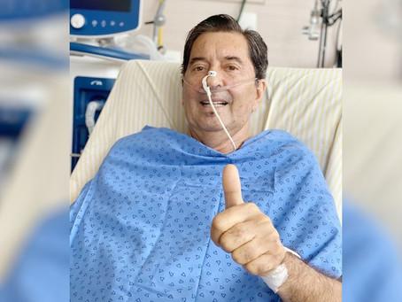 Urgente | Maguito tem sangramento pulmonar em UTI