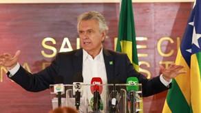 'Precisamos sair do saúde ou economia', diz Caiado ao confirmar decreto de lockdown
