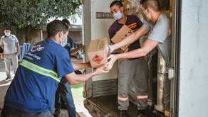 Governo de Goiás recebe doações de itens de higiene que vão reforçar enfrentamento à Covid-19