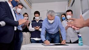 Governador entrega leitos de UTI no HCamp em Porangatu