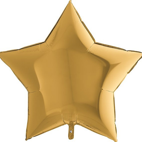 Personalised Star Foil Balloon