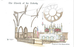 Worship Space Schematic Drawing