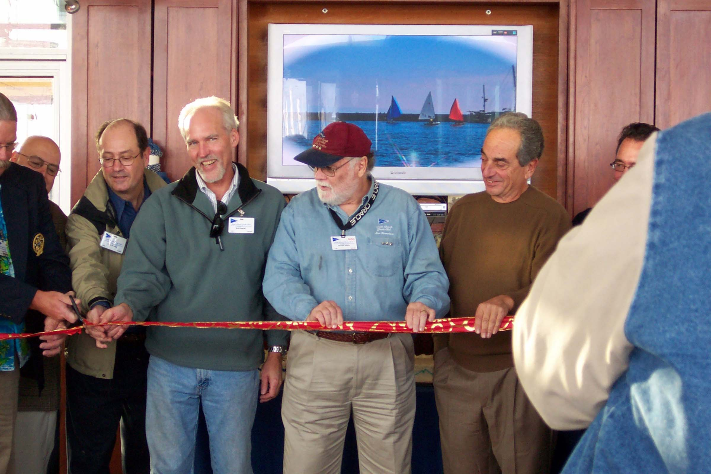 Grand Opening, Ribbon Cutting