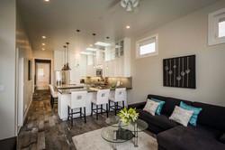 Open Kitchen & Living Room
