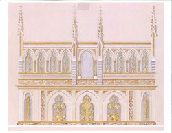Altar Schematic Drawing
