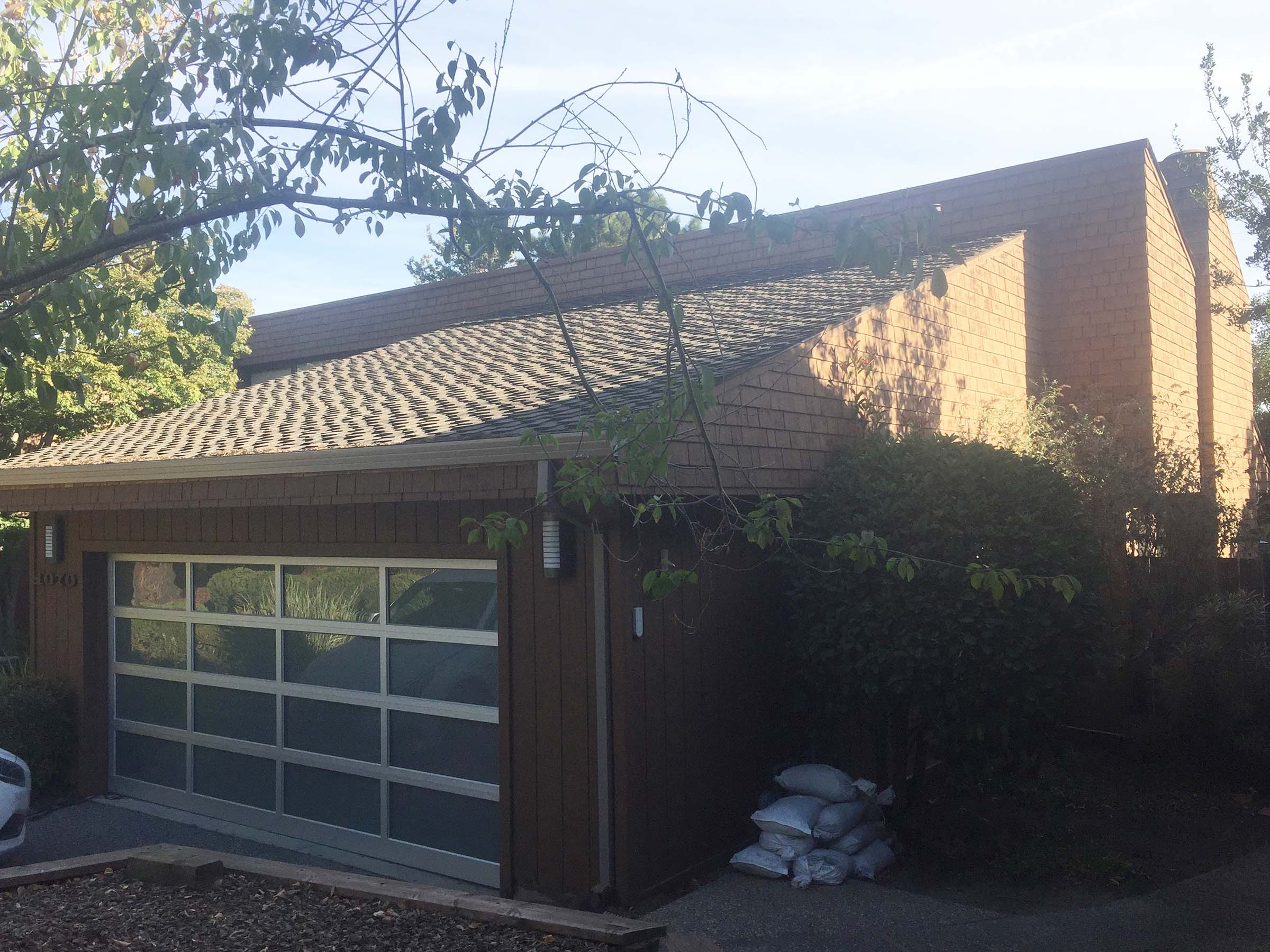 Before: Garage/Side Exterior