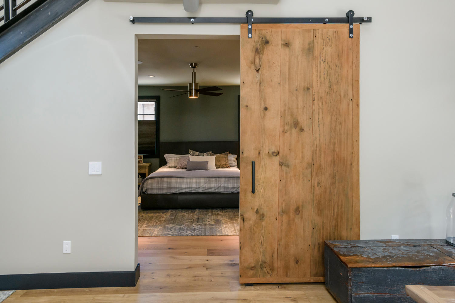 Bedroom, Barn Door
