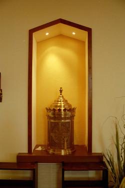 Display Niche in Worship Area