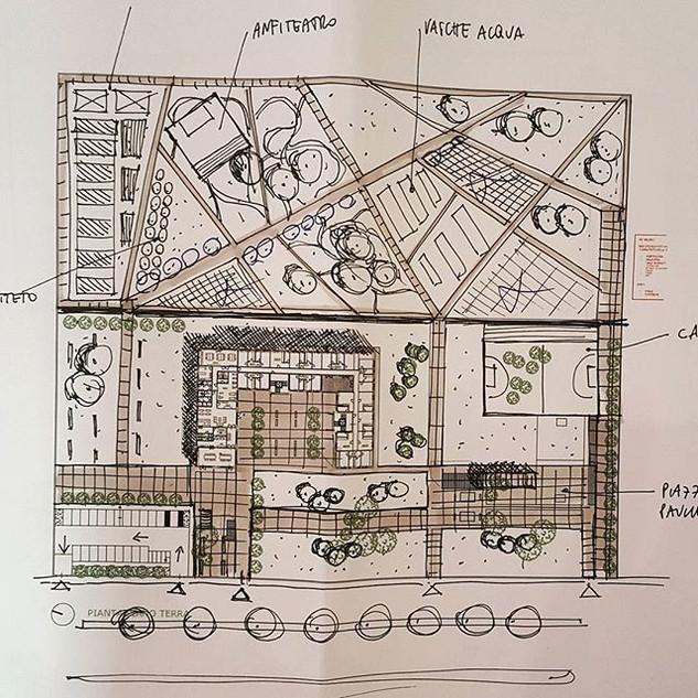 #schizzo #planimetria #siteplan #sketch
