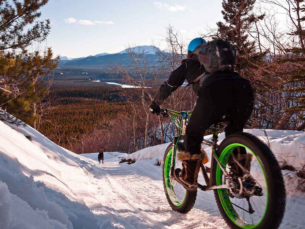 Stowe VT fatbike tours with Umiak Outfitters