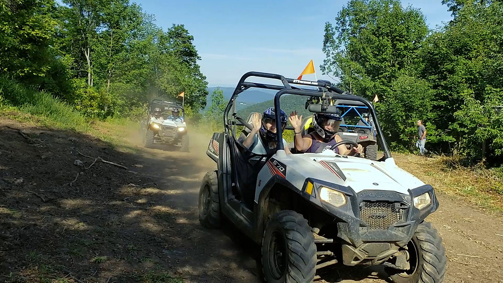 Group ATV tours Killington VT