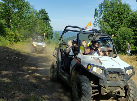 Let's Ride! Bring your team, family or squad together for a fun-filled mountain ATV adventure!