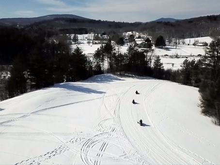 Virtual Snowmobiling! Videos from this season