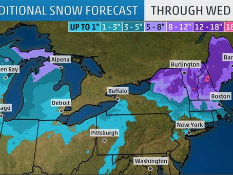 Winter Storm Maya's bringing more great conditions for snowmobiling!