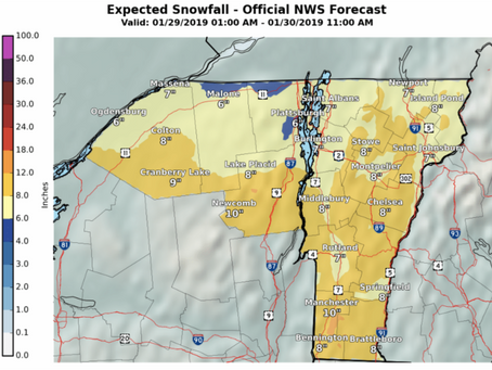 More snow on the way this week!