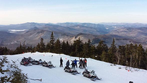 Snowmobile Vermont tour group