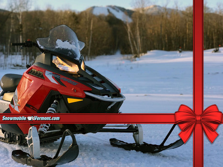 Want to Make a Snowmobile Fit into a Stocking This Christmas?