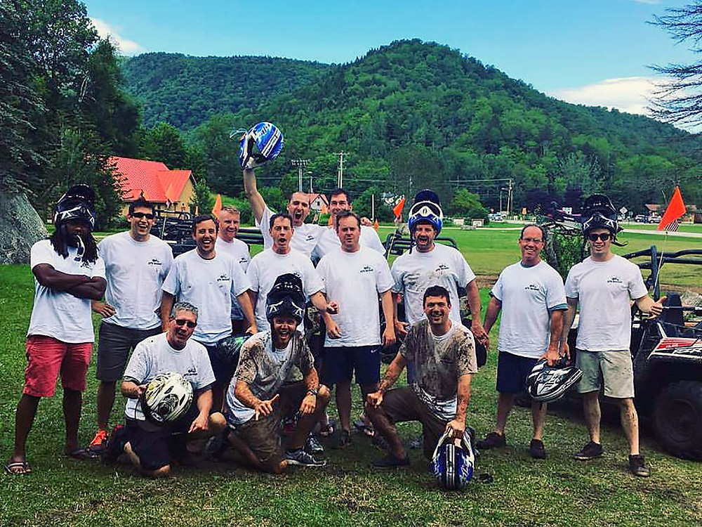 Killington bachelor party ATV Vermont