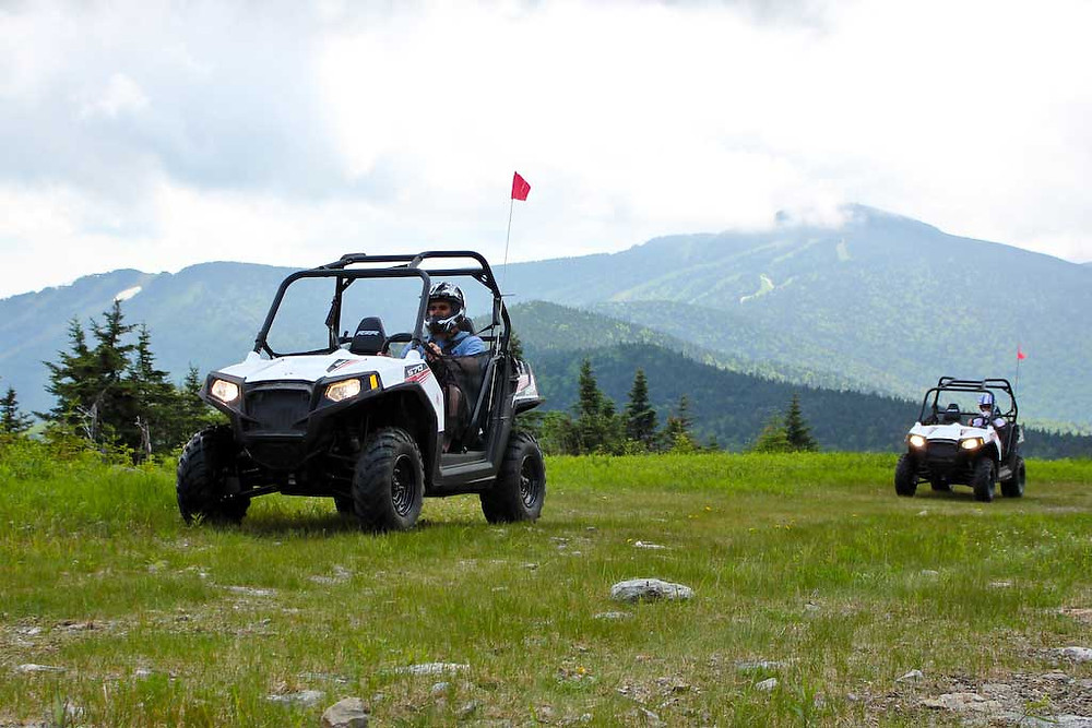 riding ATVs in Killington VT
