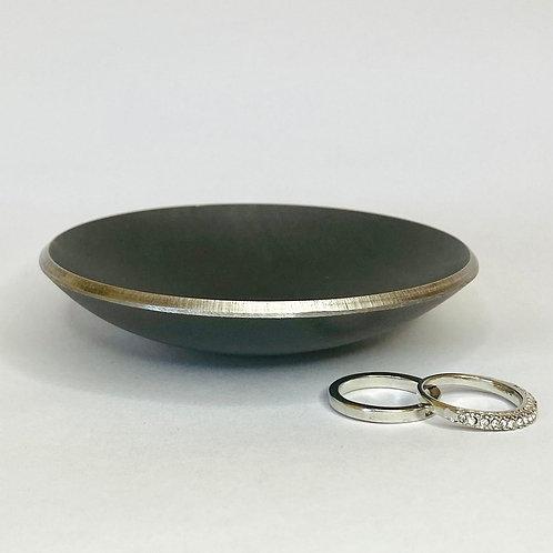 True As Steel Ring Dish