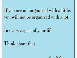 Starting the conversation on Organization