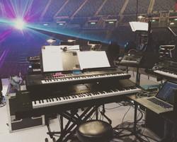 My rig at the Hong Kong Coliseum