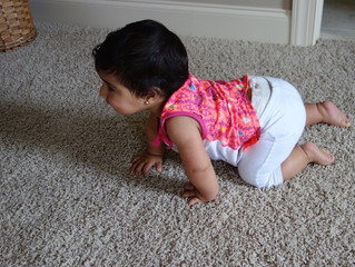 Why is crawling on your hands and knees so important?