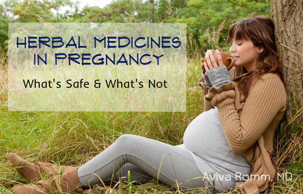 http://avivaromm.com/herbal-medicines-in-pregnancy-safety