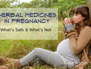 Herbs in Pregnancy: What's Safe?