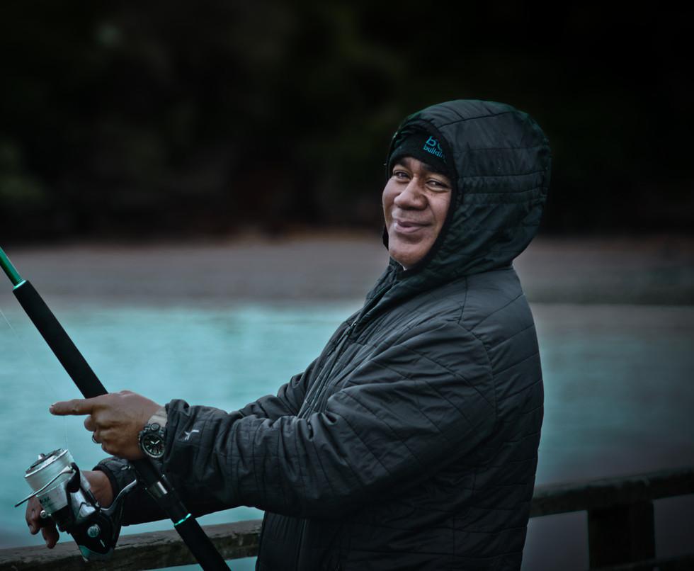 Fisherman on Cornwallis wharf sRGB drama
