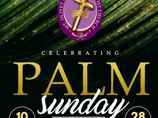Palm Sunday is Just Around the Corner!
