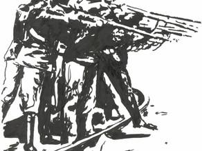 L'organisation de la chute #2 Les jardins du désastre... à paraître!
