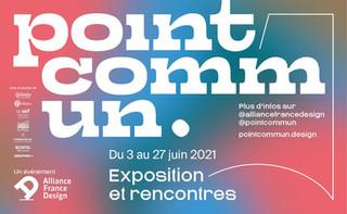 """Table ronde """"Territoires"""" à l'Alliance France Design pour """"point commun"""""""