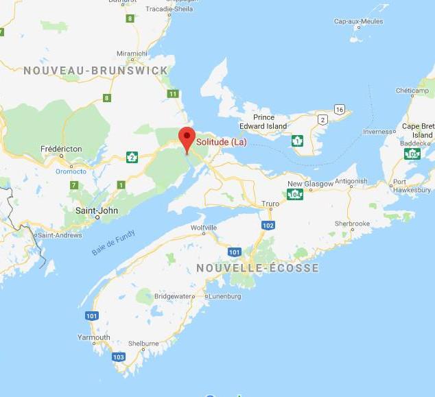Plan Acadie La Solitude