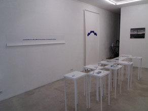 """Ouverture de l'exposition """"Avoir lieu"""" à la Galerie Simon Madeleine"""