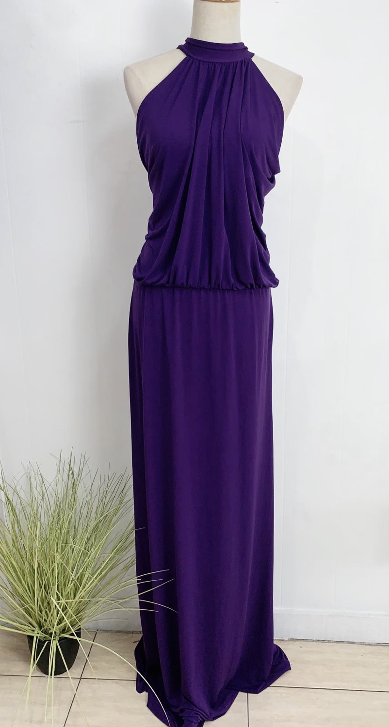 Purple Maxi Gown