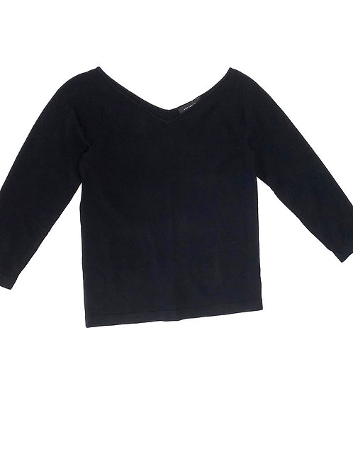 Ann Taylor V Neck Knit Top