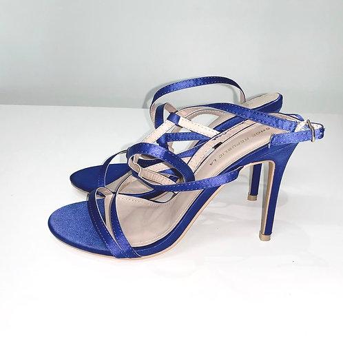 Strappy Cobalt Heels