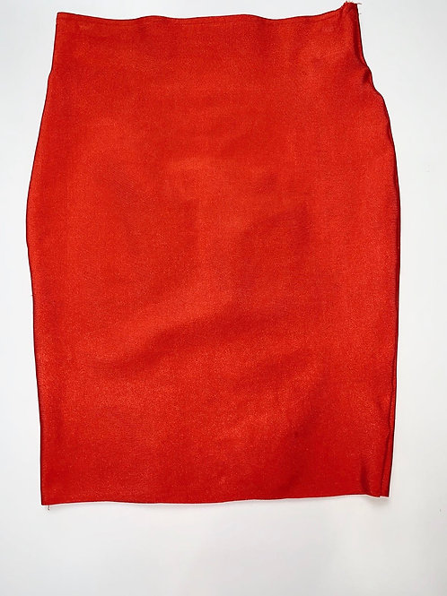 Orange Bandage Skirt