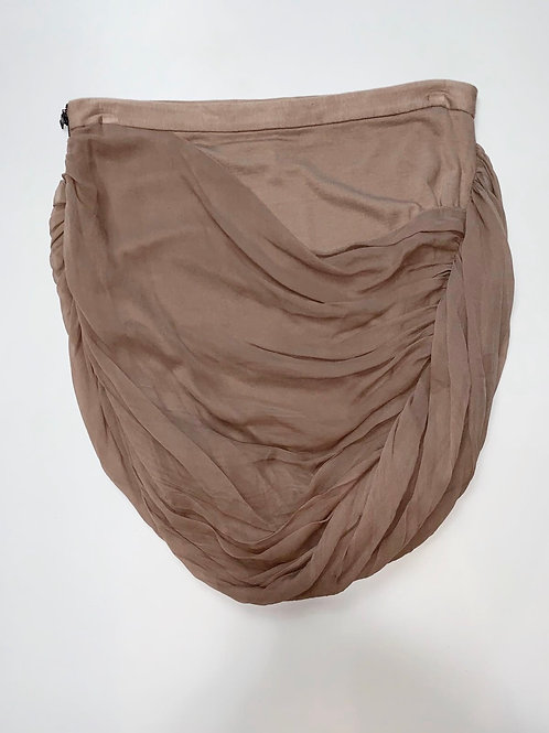 Alice and Olivia Taupe Statement Skirt