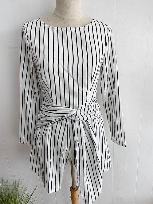 Striped dress Romper