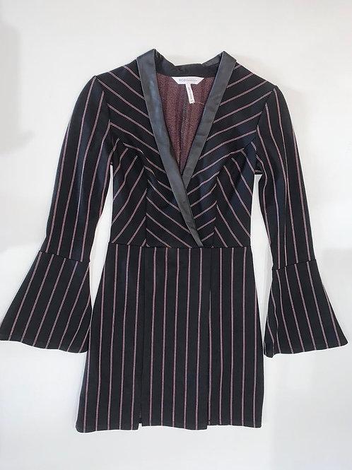 Striped Tux Dress