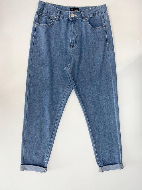 Medium Wash Mom Jeans