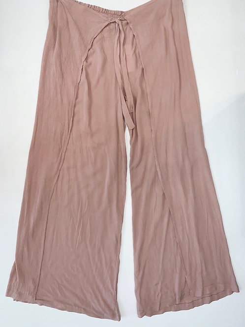 Dusty Pink Wide Leg Pants