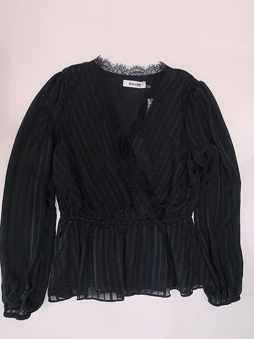 Black Statement Top (Brand New)