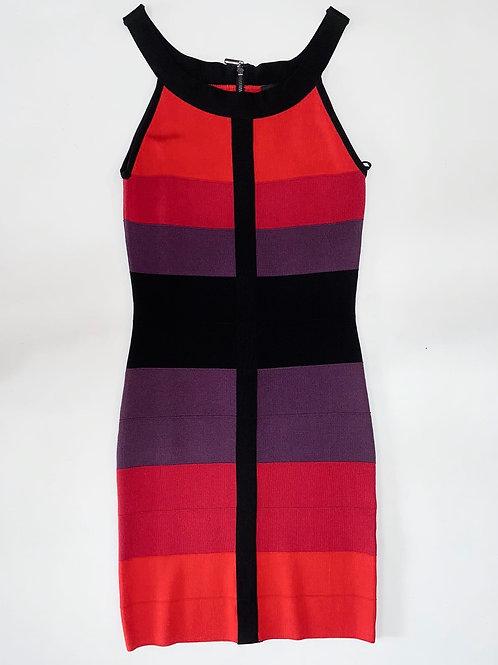 Multicolored Bandage Dress