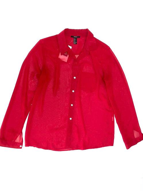 Red Sheer Shirt