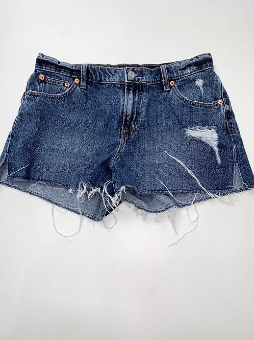 Gap Denim Shorts with side slits