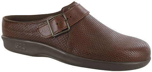 Clog Woven Brown